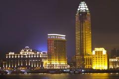 Shanghai night scene Royalty Free Stock Photos