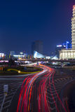 Shanghai at night. Is very beautiful Royalty Free Stock Photo