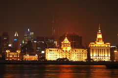 Shanghai Night View stock image