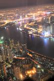 Shanghai night view Royalty Free Stock Photo