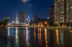 Shanghai nocturnal Stock Image