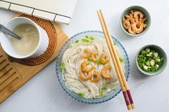 Shanghai Noodles royalty free stock image