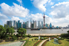 Shanghai north bund Royalty Free Stock Photography