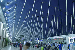 SHANGHAI - NOV. 14.2013 International Airport Royalty Free Stock Photo