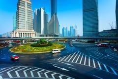 Shanghai office building Stock Photos