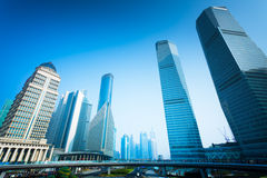 Shanghai office building Stock Photography