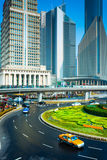 Shanghai office building Royalty Free Stock Photo