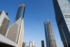 Shanghai office building Royalty Free Stock Photography