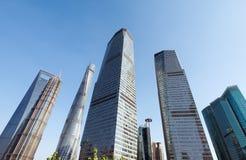 Shanghai office building Stock Photography