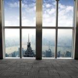 shanghai okno Zdjęcia Stock