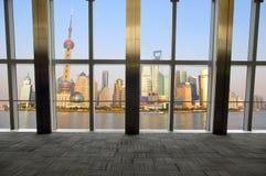 shanghai okno Zdjęcie Royalty Free