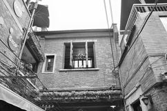 Shanghai old alley. Old alleys of Shanghai Tian Zi Fang Royalty Free Stock Photography