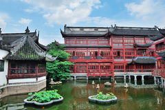 Shanghai old buildings Stock Photo