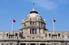 Shanghai old colonial building Royalty Free Stock Images