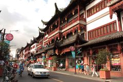 Shanghai old town Stock Photo
