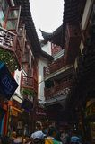 Shanghai old town Royalty Free Stock Photography
