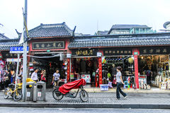 Shanghai old town, Yuyuan gardens Royalty Free Stock Images