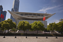 Shanghai Opera House Royalty Free Stock Photo