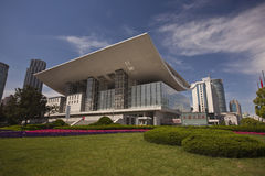 Shanghai Opera House Stock Photography