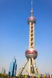 Shanghai oriental pearl Stock Photo
