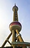 Shanghai-Oriental pearl tower Royalty Free Stock Images