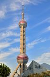 Shanghai oriental pearl tower and public building Royalty Free Stock Images