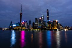 Shanghai Oriental Pearl Tower 3 stock images