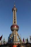 Shanghai oriental pearl tv tower Royalty Free Stock Photos