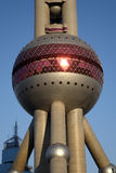 Shanghai oriental pearl tv tower Royalty Free Stock Photo