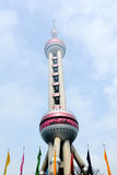 Shanghai Oriental Pearl TV Tower - China Stock Image