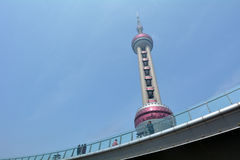 Shanghai Oriental Pearl TV Tower - China Royalty Free Stock Photos