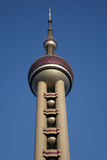 Shanghai oriental pearl tv tower Stock Photography