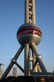 Shanghai oriental pearl tv tower Royalty Free Stock Image