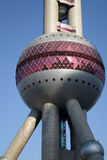 Shanghai oriental pearl tv tower Royalty Free Stock Photos