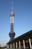Shanghai oriental pearl tv tower Stock Photos