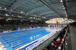 Shanghai-orientalisches Sportzentrum Lizenzfreie Stockfotos