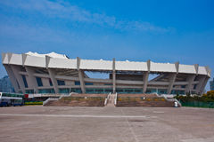 Shanghai Outdoor Stadium Royalty Free Stock Images