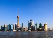 Shanghai pärlatorn Royaltyfria Foton