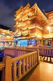 Shanghai pagoda building Stock Photos