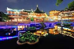 Shanghai pagoda building Stock Photography