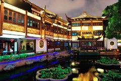 Shanghai pagoda building Stock Images