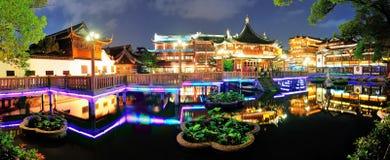Shanghai pagoda building Royalty Free Stock Image