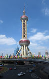 Shanghai Pearl of the Orient Tower Royalty Free Stock Photos