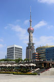 Shanghai Pearl of the Orient Tower Stock Images