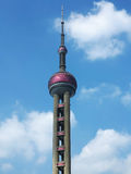 Shanghai Pearl of the Orient Tower Royalty Free Stock Images