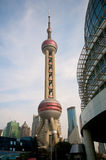 Shanghai Pearl Tower royalty free stock photography