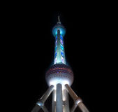 Shanghai pearl TV tower Stock Photography