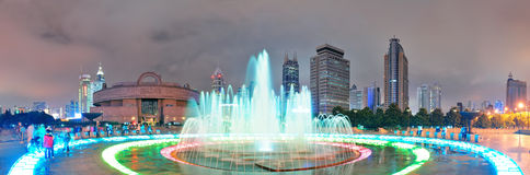 Shanghai People's Square Royalty Free Stock Photo