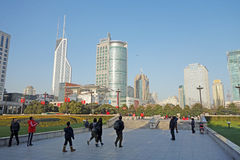 Shanghai Peoples Square Royalty Free Stock Photos