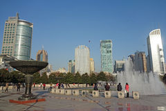 Shanghai Peoples Square Stock Photos